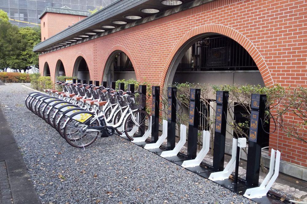 倉敷市中心市街地シェアサイクル導入促進事業の実施(試行)についての写真2