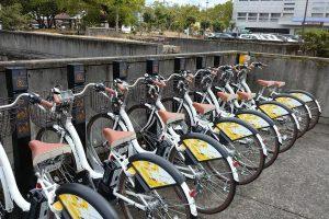 倉敷市中心市街地シェアサイクル導入促進事業の実施(試行)について